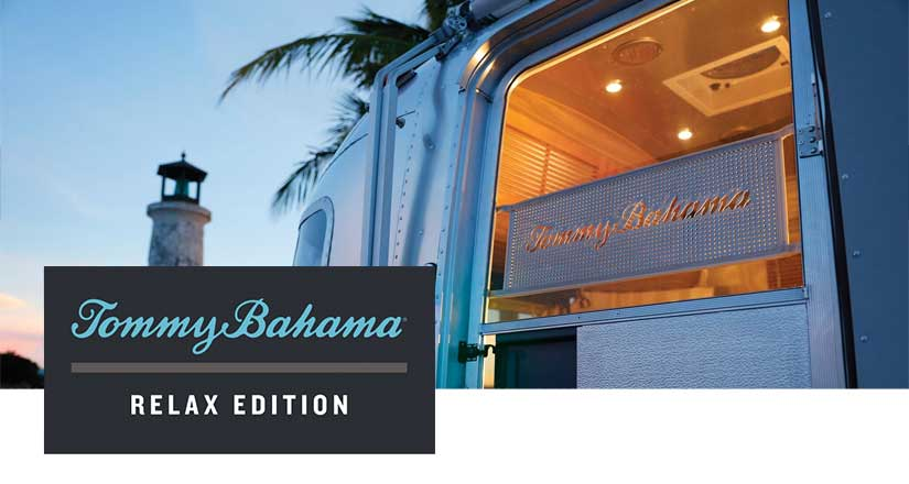 Tommy Bahama Travel Trailer
